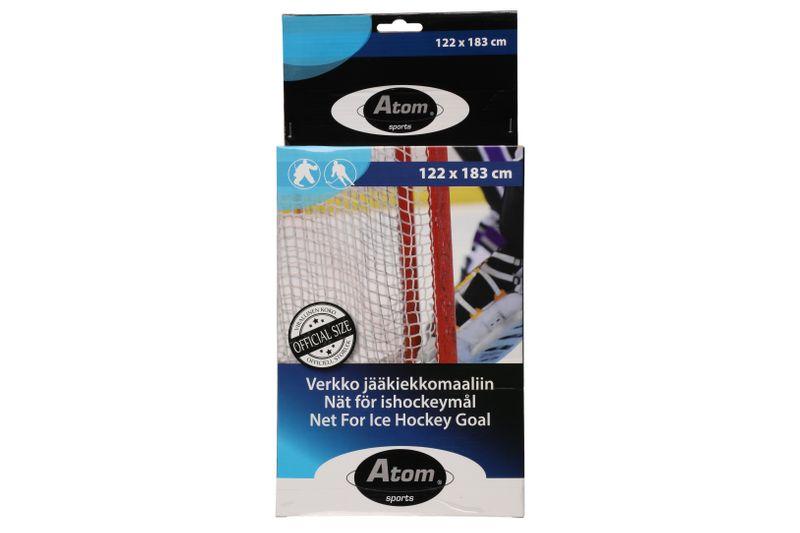 atom Eishockey Netz | Ersatznetz | offizielles Hockey Netzmaß 122 x183cm | Finnland