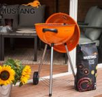 MUSTANG Neo Holzkohle Grill BBQ Grill orange