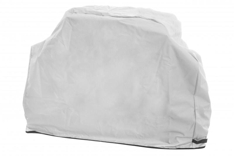 Mustang Grillabdeckung   165x 53 x 99cm   Farbe Grau   Dicke derbe Ausführung   Grillhaube   Abdeckhaube Gasgrill   Schutzhülle     UV-beständig   Finnland Premium Qualität